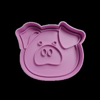 Cortante para galletita forma de Cabeza de Cerdo 2