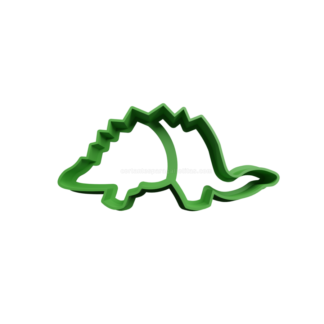 Cortante para galletita forma de Stegosaurus contorno