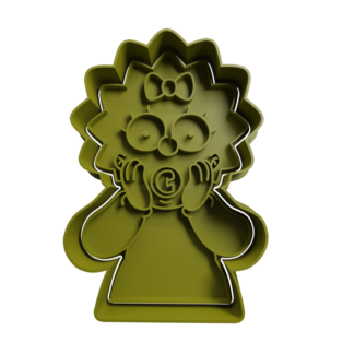 Cortante para galletitas de Maggie - Los Simpsons