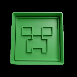 Cortante para galletitas de Creeper de Minecraft