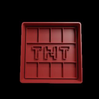 Cortante para galletitas de TNT de Minecraft