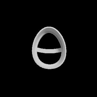 Cortante de huevo de pascua
