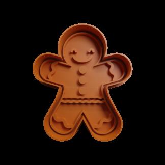 Cortante de muñeco de gengibre