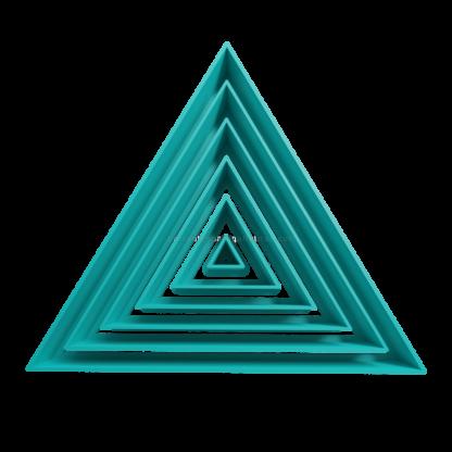 Set de cortantes triangulares