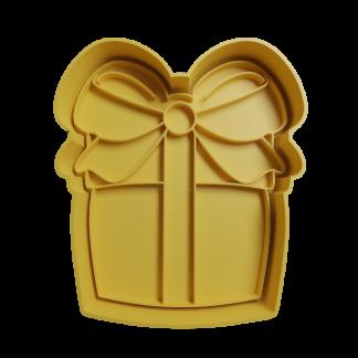 cortante 3d de regalo de navidad