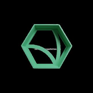 Cortante hexagonal