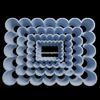 Cortante de cuadrado ondulado