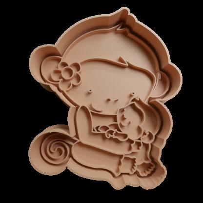 Cortante de mama mono