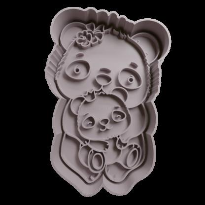 Cortante de panda mama