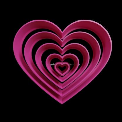 Cortantes de corazon