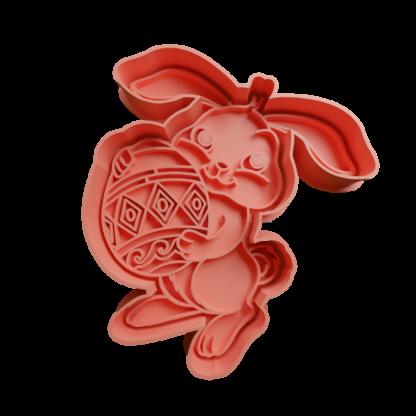 cortante de conejo de pascua