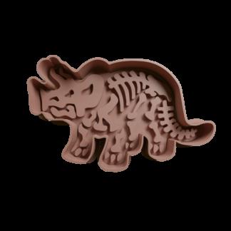 Cortante de fósil de dinosaurio