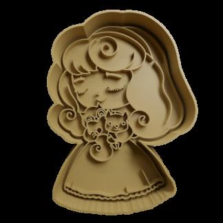 Cortante de princesas disney
